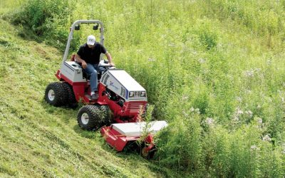 Ventrac Sales Award for Tom Bailey