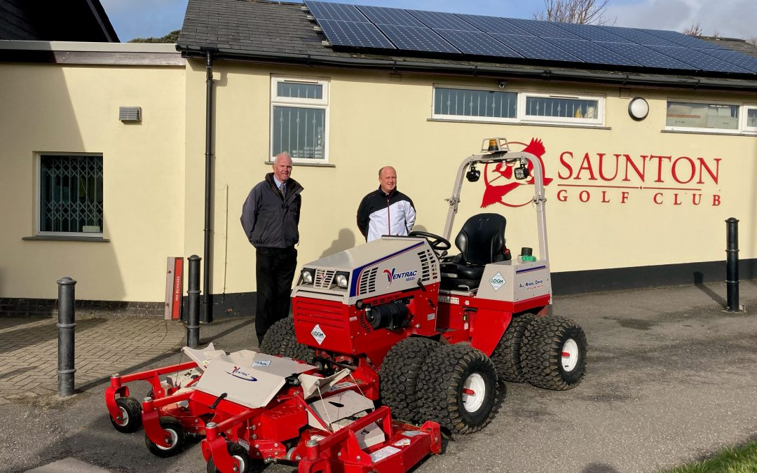 Ventrac at Saunton Golf Club