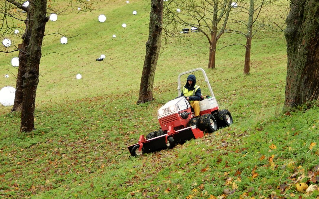 Rothschild Foundation Purchases Ventrac For National Trust's Waddeston Manor