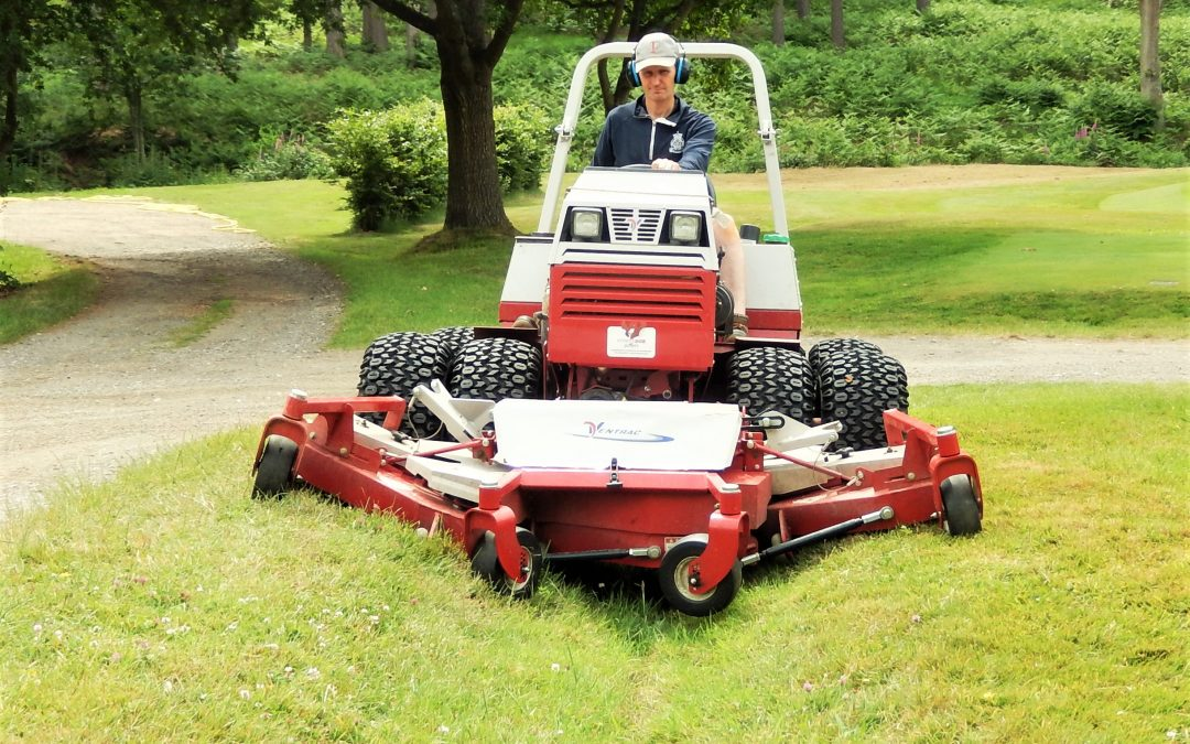 Ventrac Saving Hundreds Of Greenkeeping Hours At Royal Ashdown Forest Golf Club