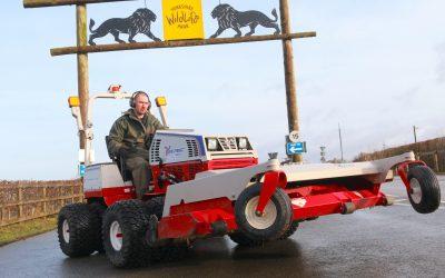 Yorkshire Wildlife Park Invest In Ventrac